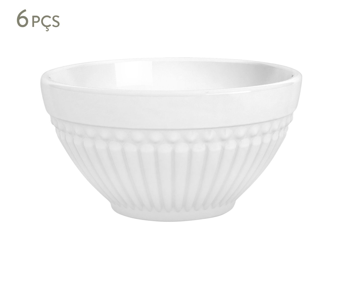 Jogo de Bowls Roma Branco - 12,5cm | Westwing.com.br