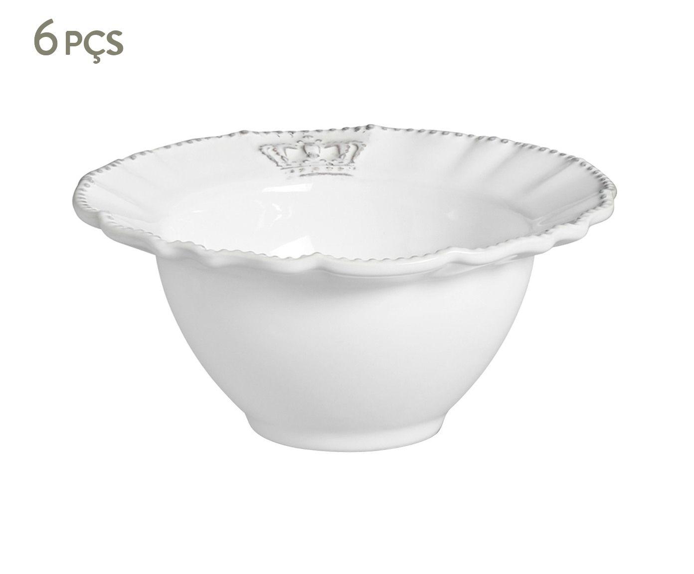 Jogo de Bowls Windsor Branco - 414ml | Westwing.com.br