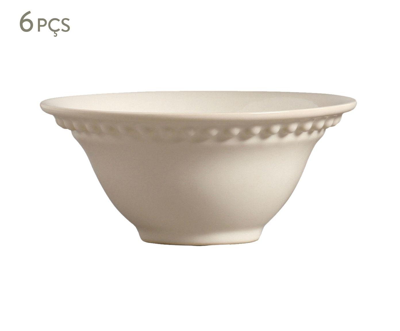 Jogo de Bowls Atenas Cru - 450ml | Westwing.com.br