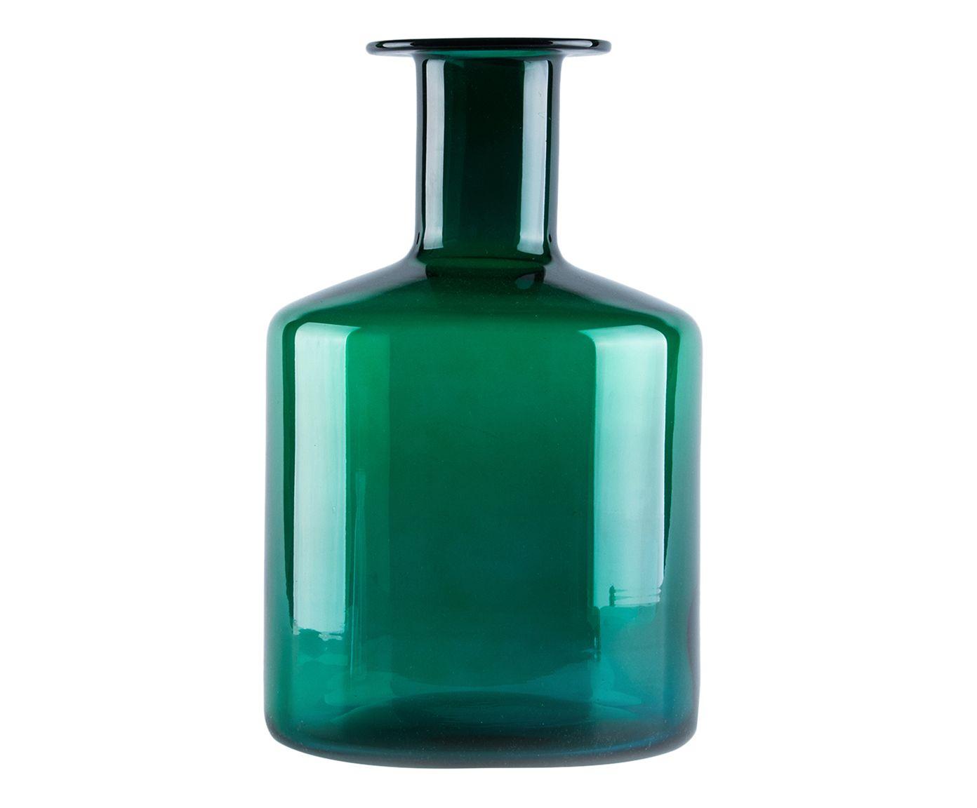 Vaso Borin Verde - 27X16,5cm | Westwing.com.br