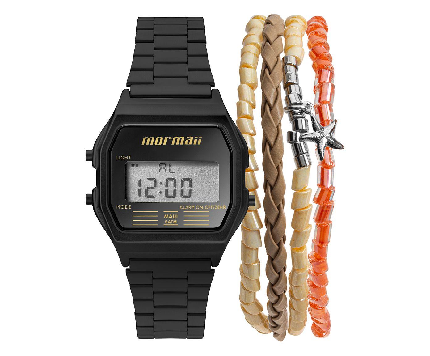 Relógio Digital Mormaii Quadrado Preto | Westwing.com.br
