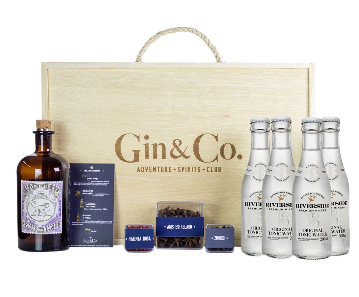 Jogo para Preparo de Gin Monkey 47 - 10 Peças | Westwing.com.br
