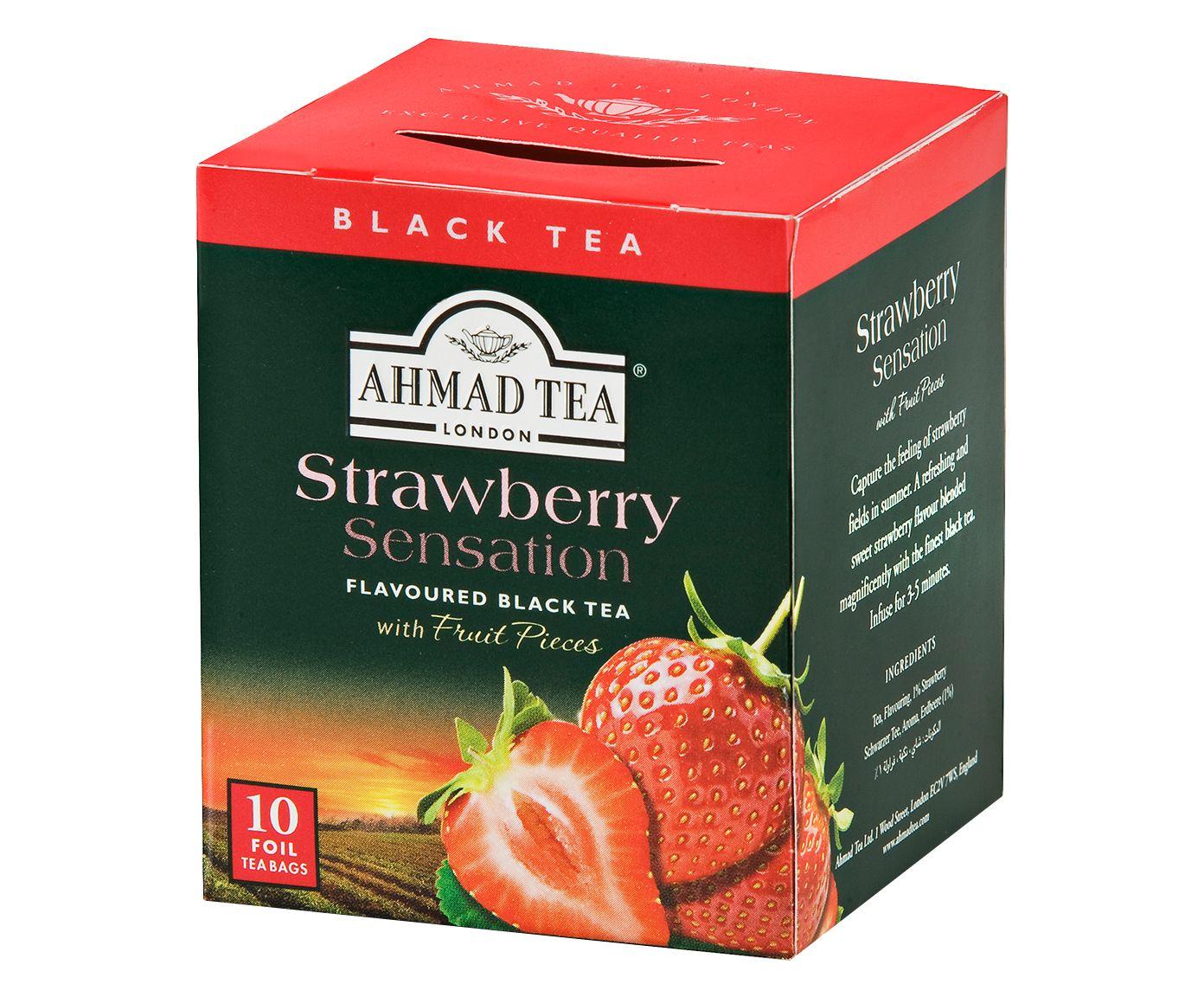 Chá Eau Ahmad Strawberry Sensation - 20G   Westwing.com.br