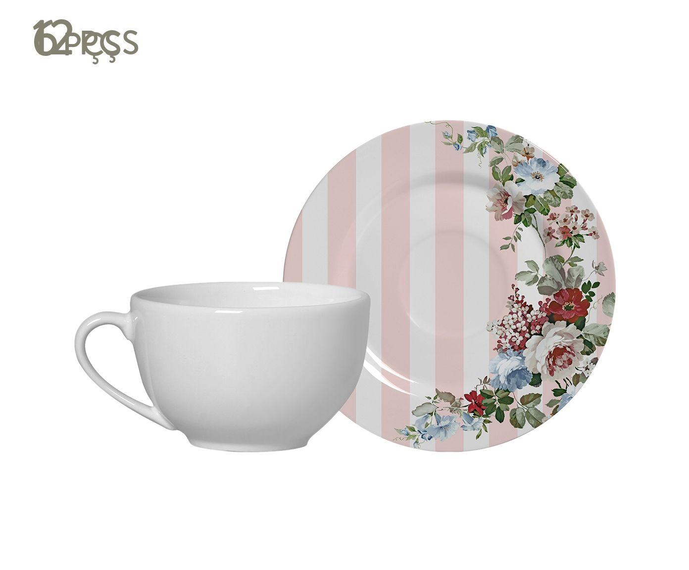 Jogo de Xícaras para Chá com Pires Paris - 300ml   Westwing.com.br
