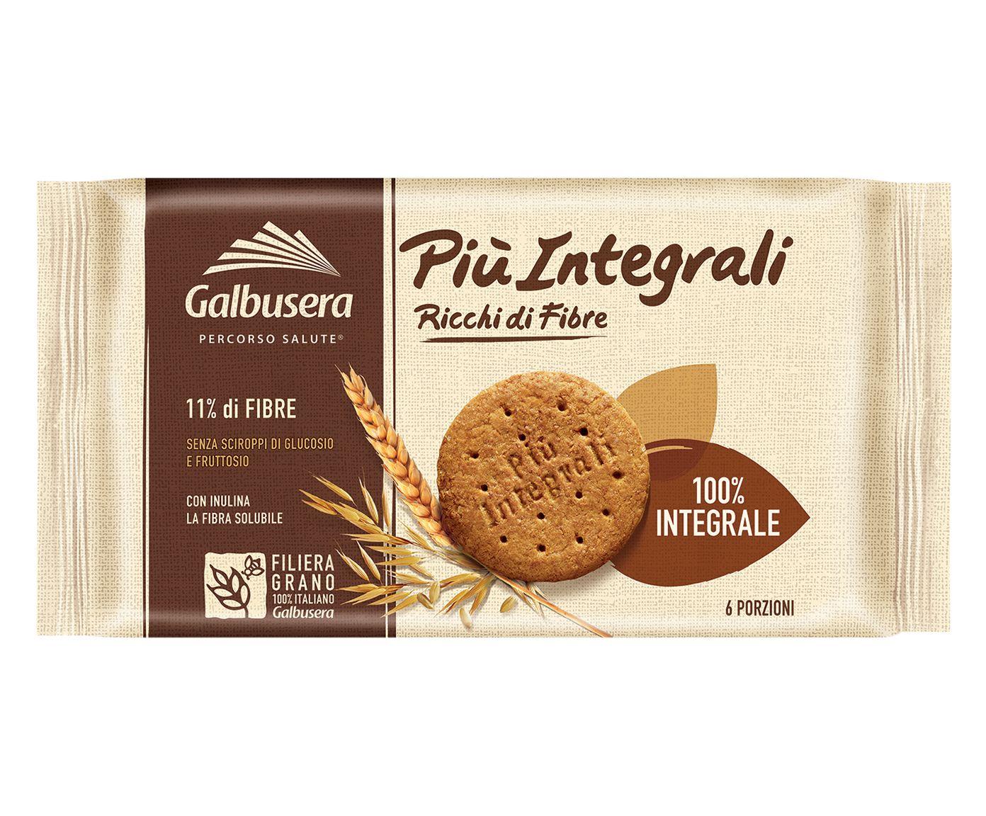 Biscoito com Farinha Integral e Fibra Solúvel Piu Integrale - 330G | Westwing.com.br