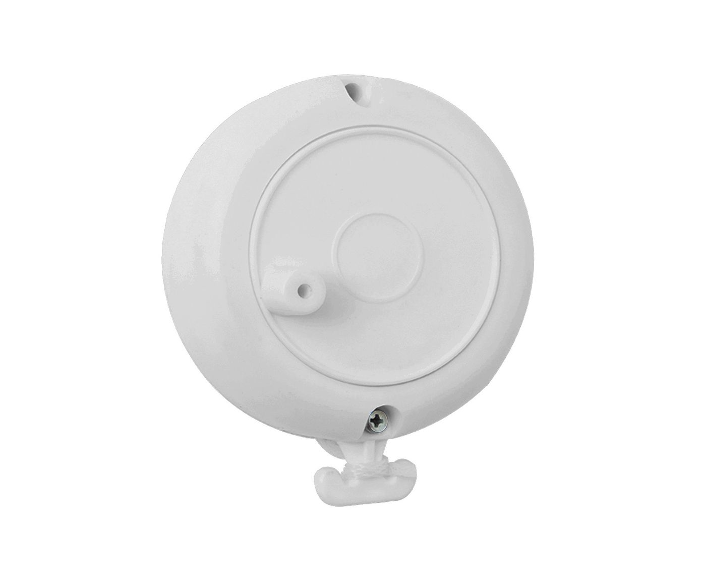 Varal Retrátil Carretilha Branco - 8X9,5X3,5cm | Westwing.com.br