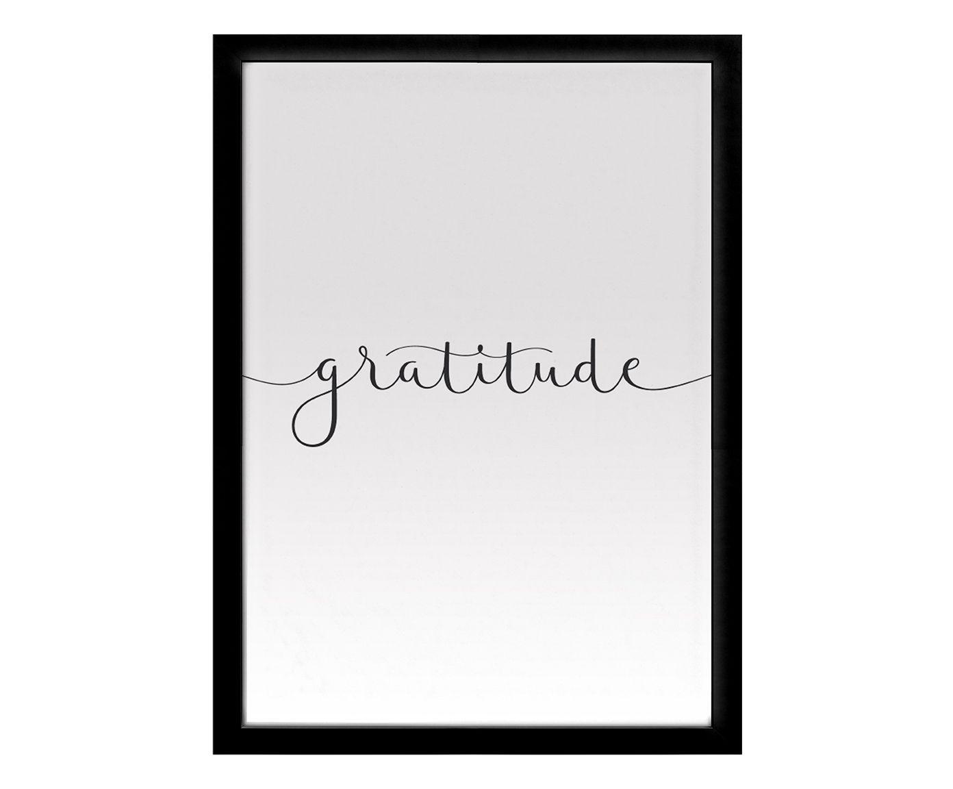 Quadro Gratitude - 25X35cm | Westwing.com.br