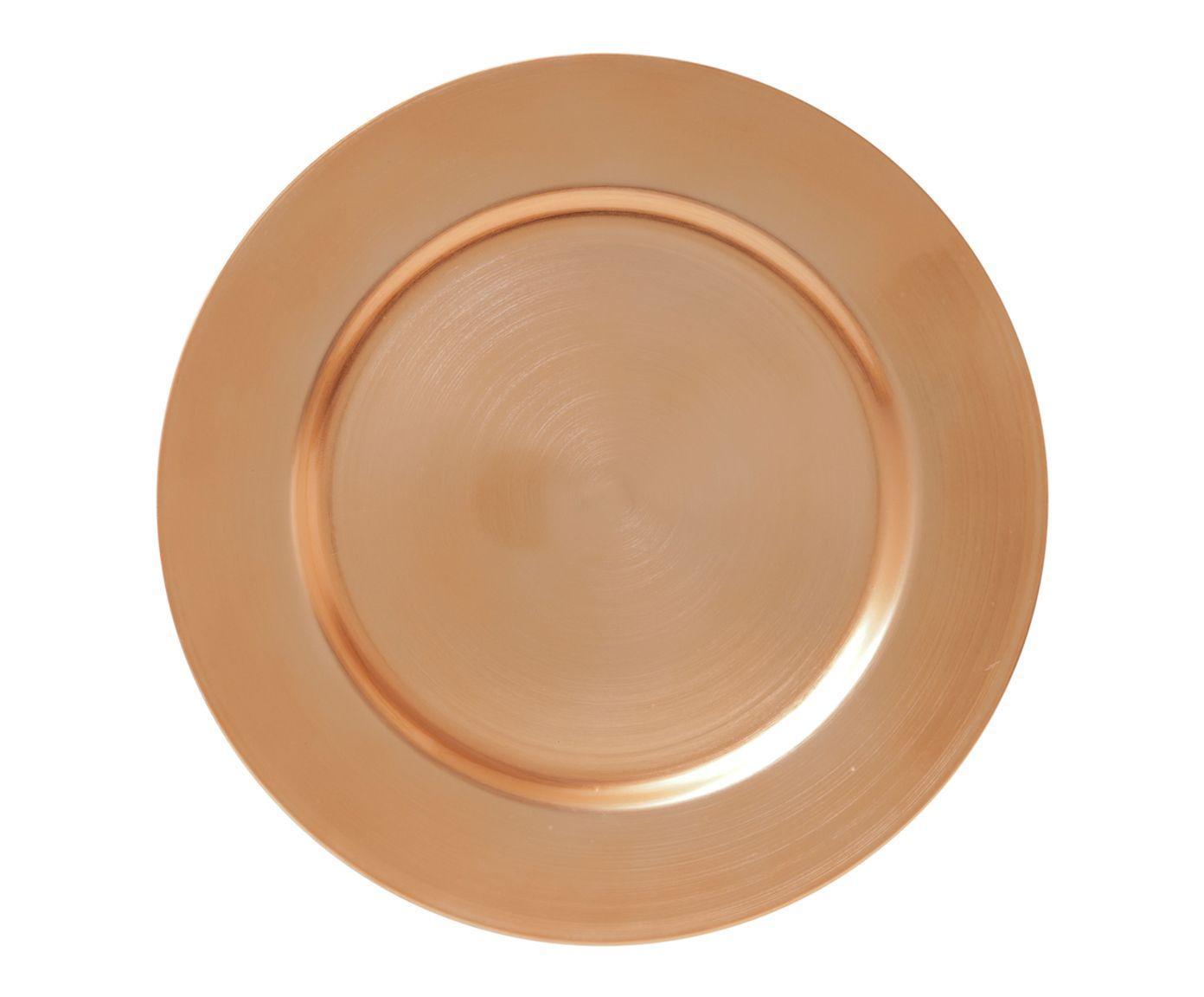 Sousplat Opala Dourado - 33cm | Westwing.com.br