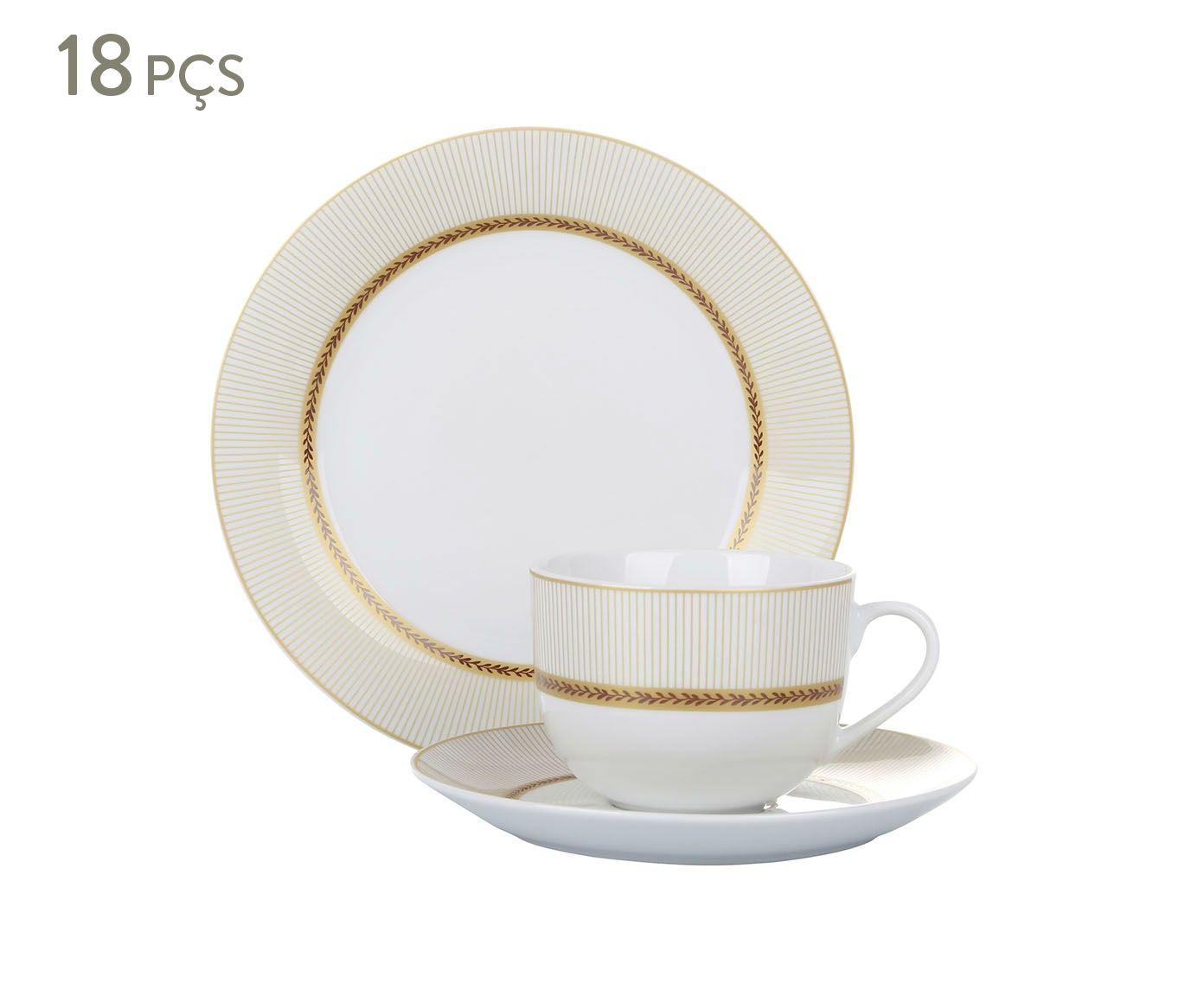 Jogo para Café da Tarde em Porcelana Eldorado | Westwing.com.br