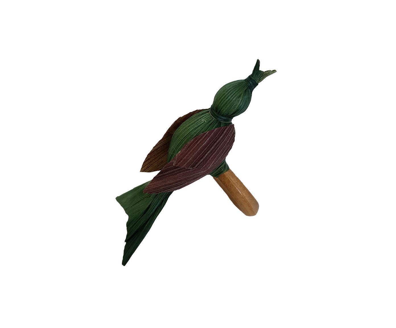 Anel para Guardanapo Pássaro Palha Verde - 6cm | Westwing.com.br