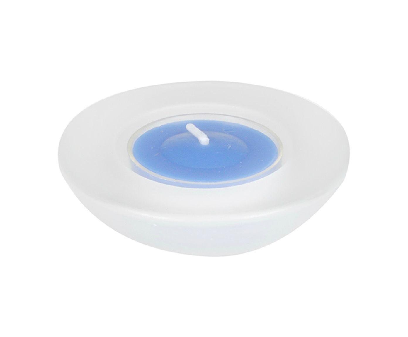 Vela Holler Azul - 7X12cm   Westwing.com.br