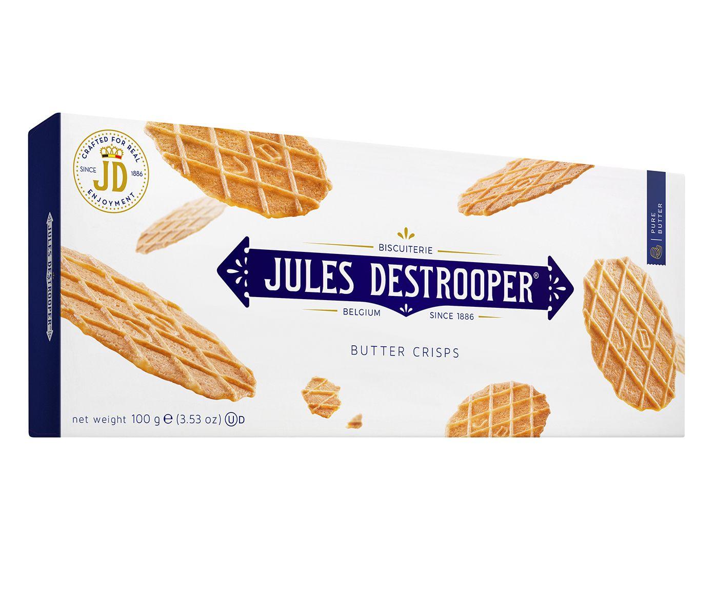 Biscoito Belga Jules D. Butter Crisps - 100G   Westwing.com.br