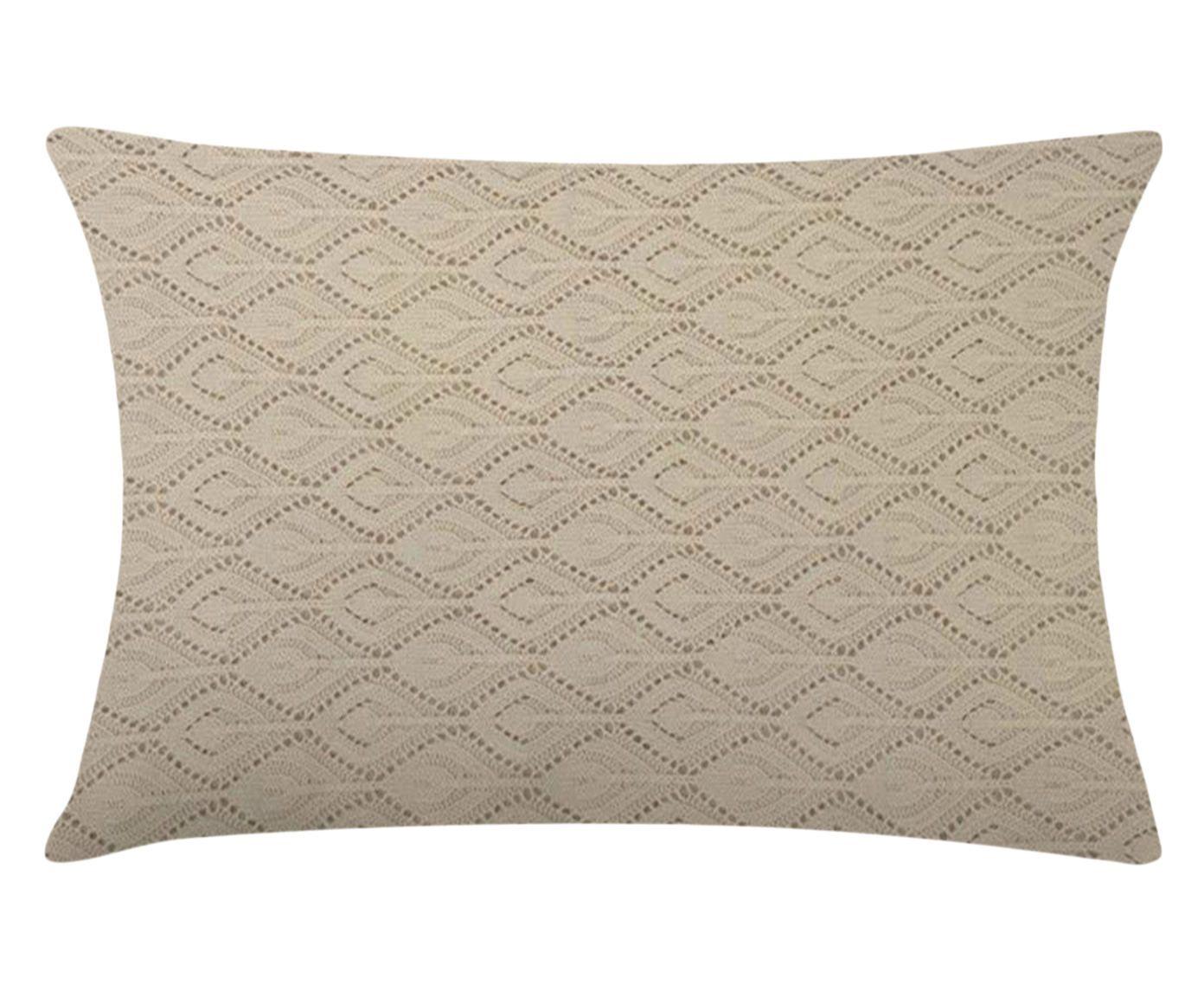 Capa de Travesseiro Pavian Cinza - 50X70cm | Westwing.com.br