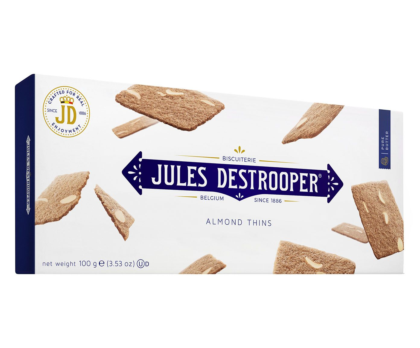 Biscoito Bel Jules D. Almond Thins - 100G | Westwing.com.br