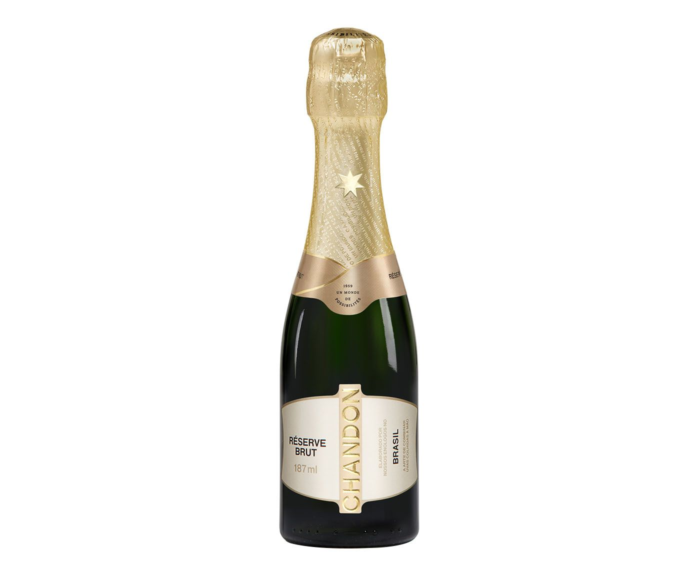 Espumante Baby Chandon Reserve Brut - 187ml   Westwing.com.br