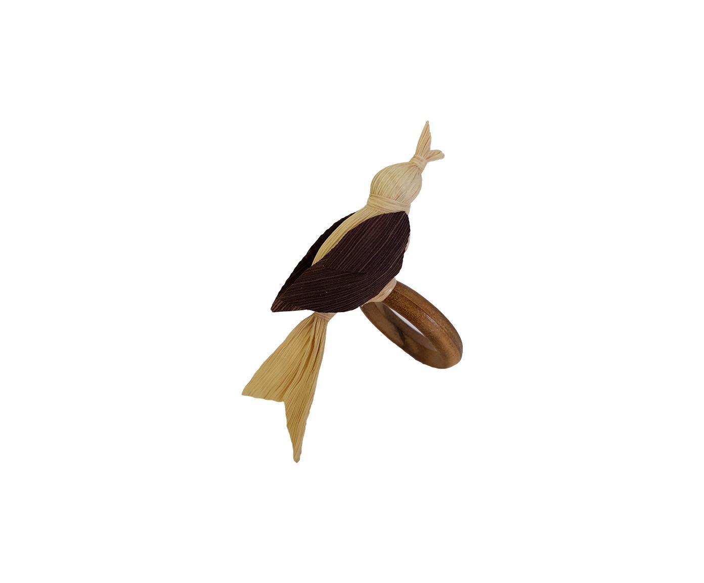 Anel para Guardanapo Pássaro Palha Bege - 6cm | Westwing.com.br