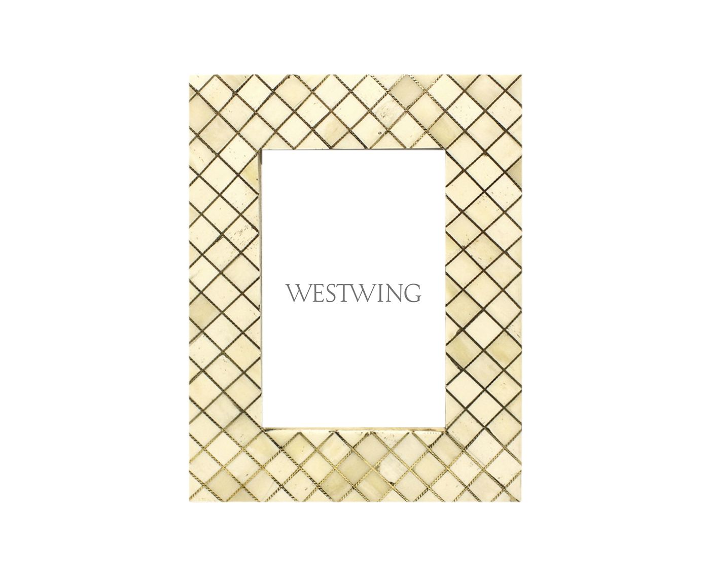 Porta-Retrato em Osso Rheinfelden - 21,5X2X16,5cm | Westwing.com.br