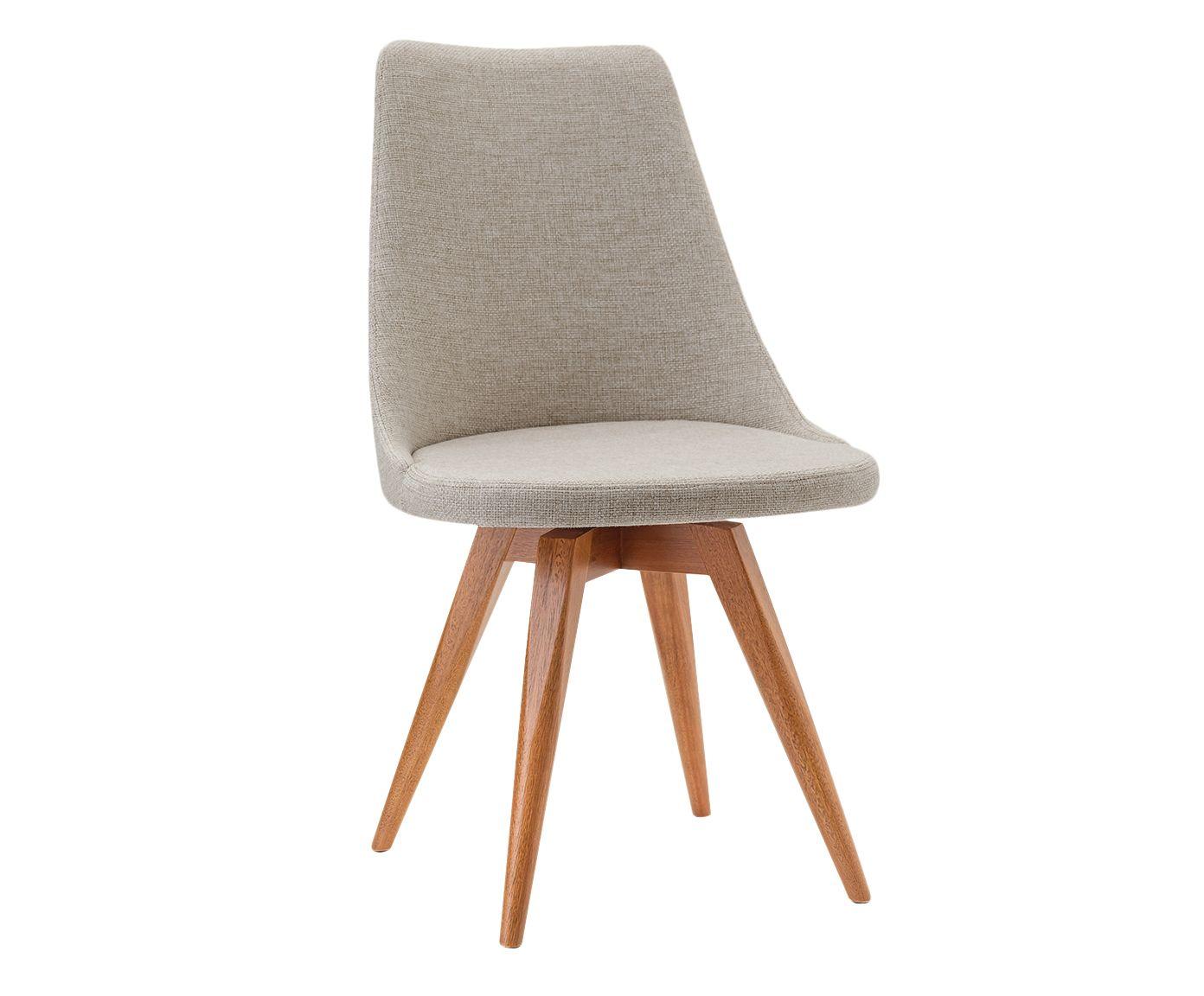 Cadeira Fixa Ella Cinza - 55X91X53cm | Westwing.com.br