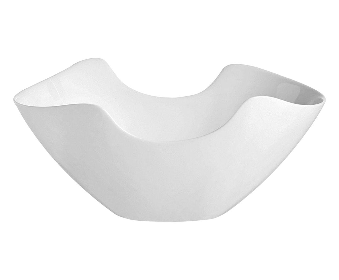 Saladeira Salenco Branca - 29X12,5X24,9cm | Westwing.com.br