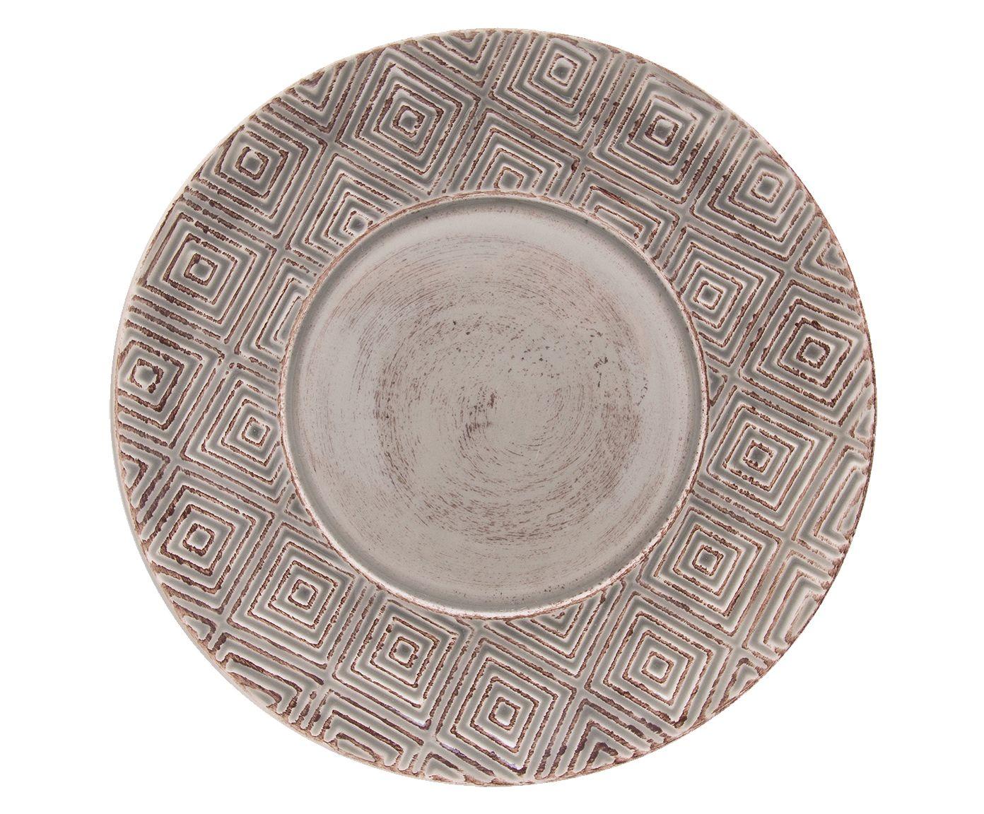 Prato para Sobremesa Sollievo Pierre - 21X2,5cm | Westwing.com.br