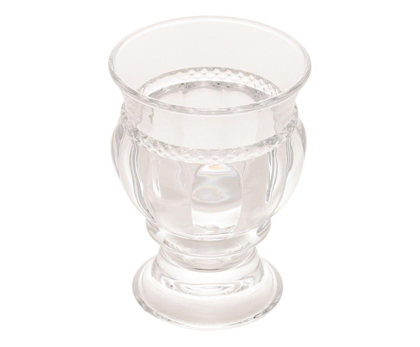 Cachepot de Cristal Diamante 7,2X5,8X10cm - Lyor | Westwing.com.br