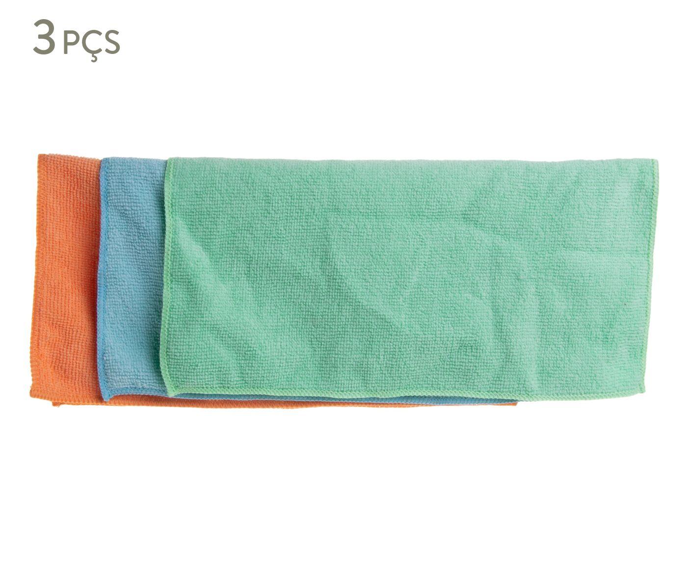 Jogo de Panos para Limpeza Hydra - 30X30cm   Westwing.com.br