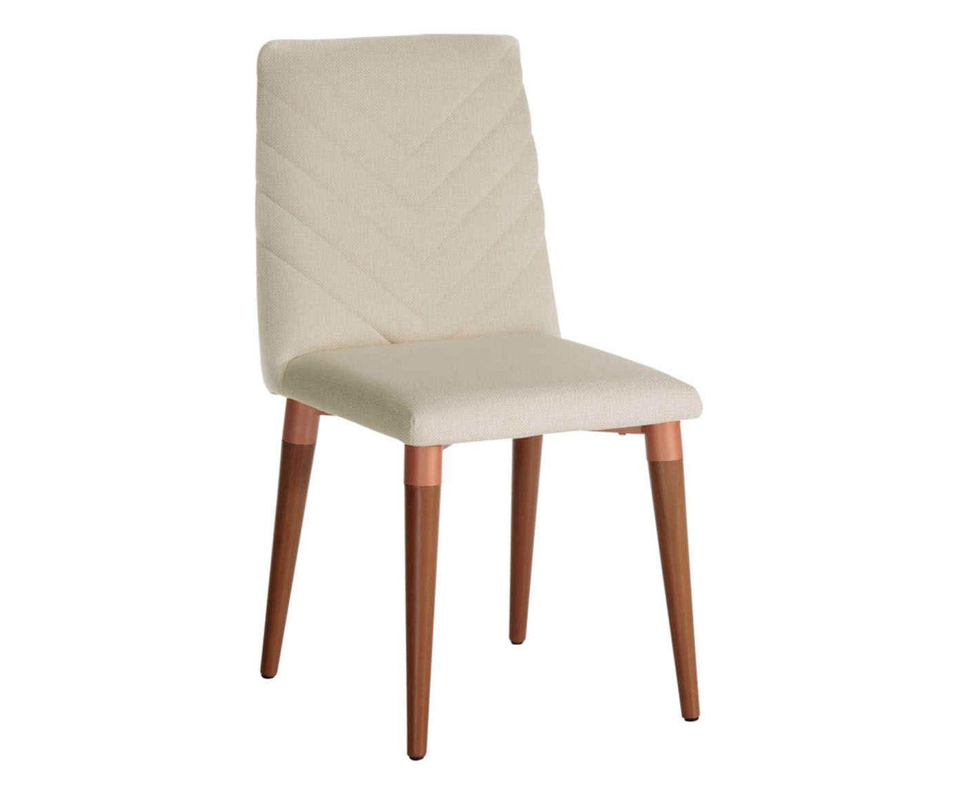 Cadeira Liv Bege Claro - 45X91X53cm | Westwing.com.br