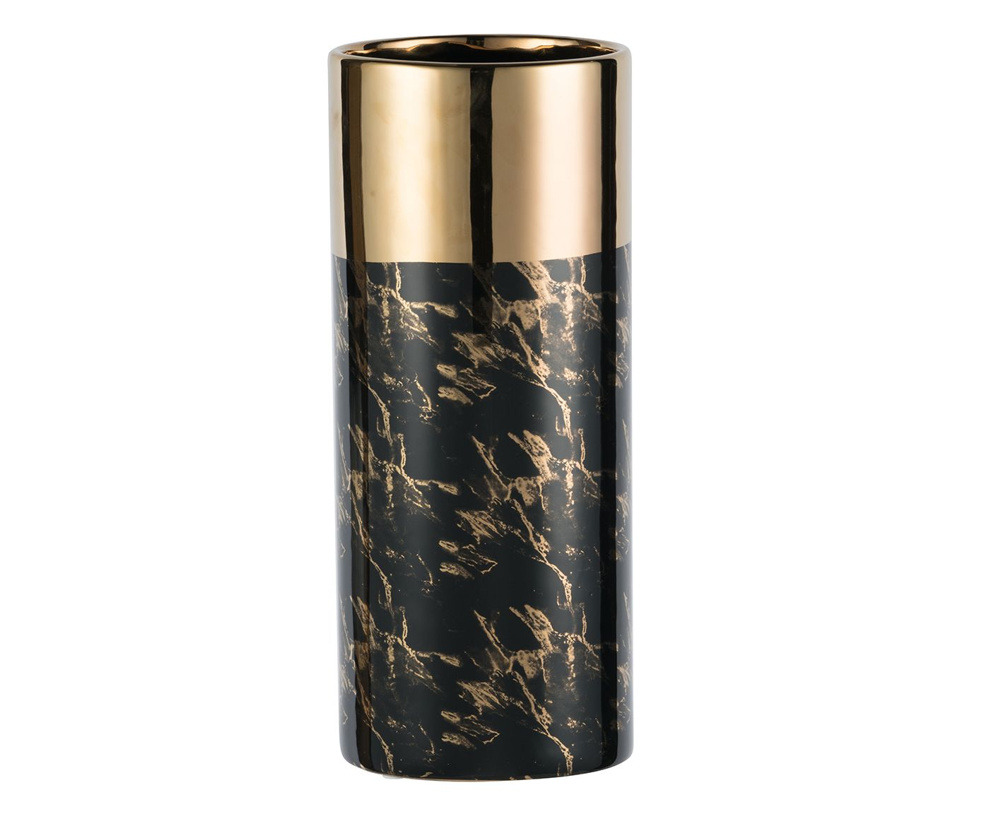 Vaso Marble Gold - 17cm | Westwing.com.br