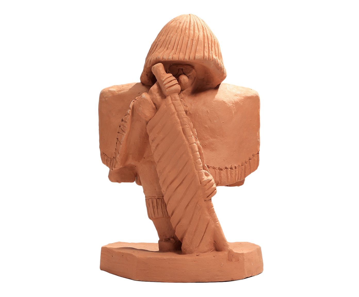 Escultura Caboclo de Lança - 25X37X20cm | Westwing.com.br