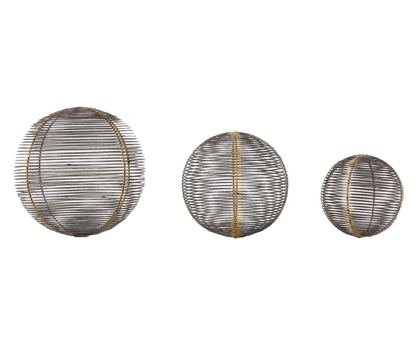 Jogo de Esferas Decorativas Salim | Westwing.com.br