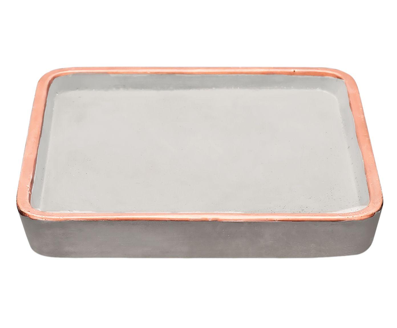 Bandeja Decorativa Ivete - 18,5X2X18,5cm | Westwing.com.br