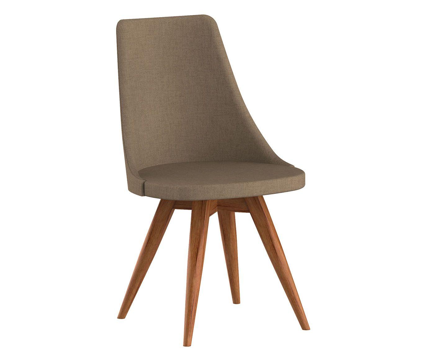 Cadeira Fixa Ella Capuccino - 55X91X53cm | Westwing.com.br