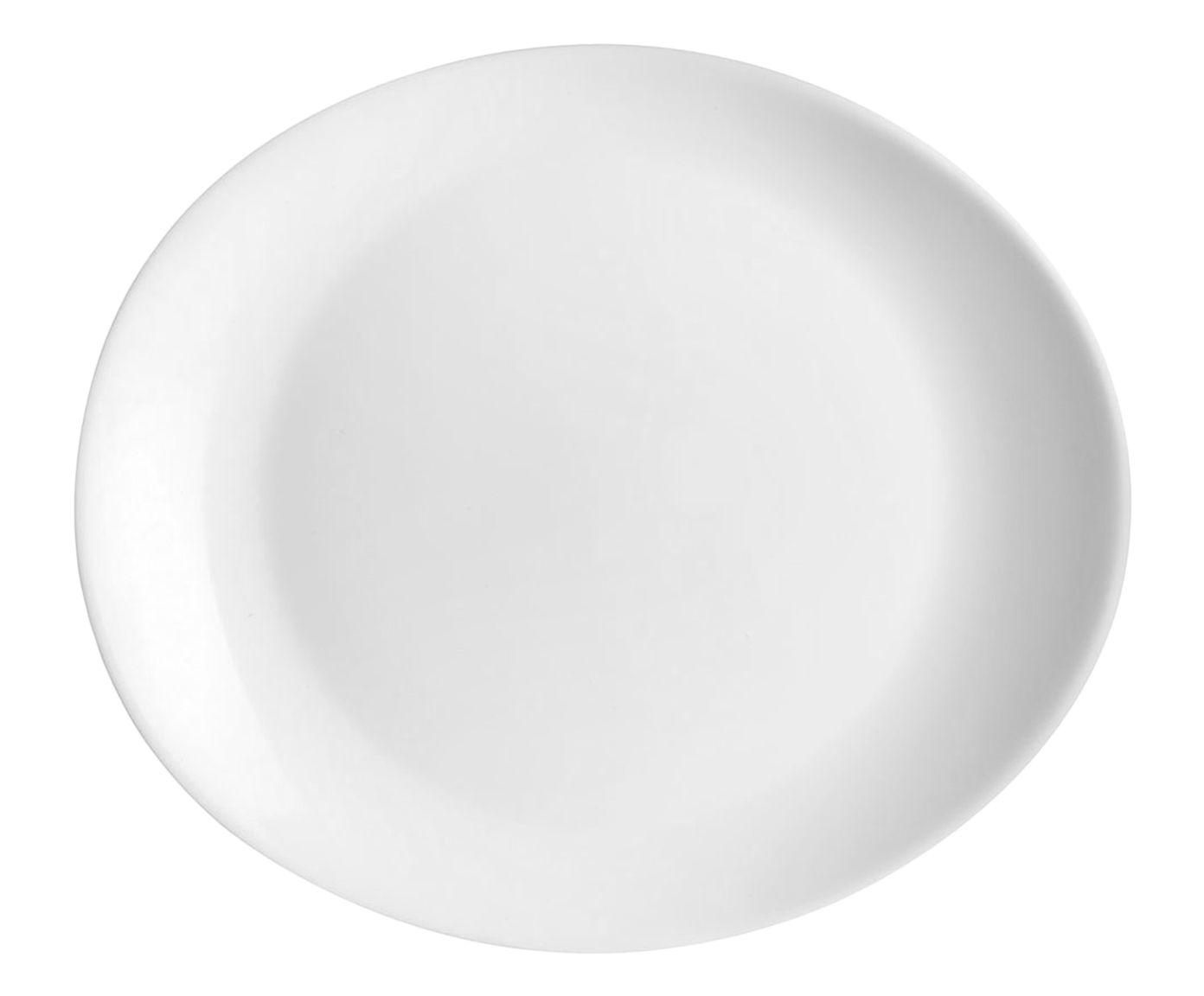 Prato para Steak Friends Branco - 30X3X26cm | Westwing.com.br