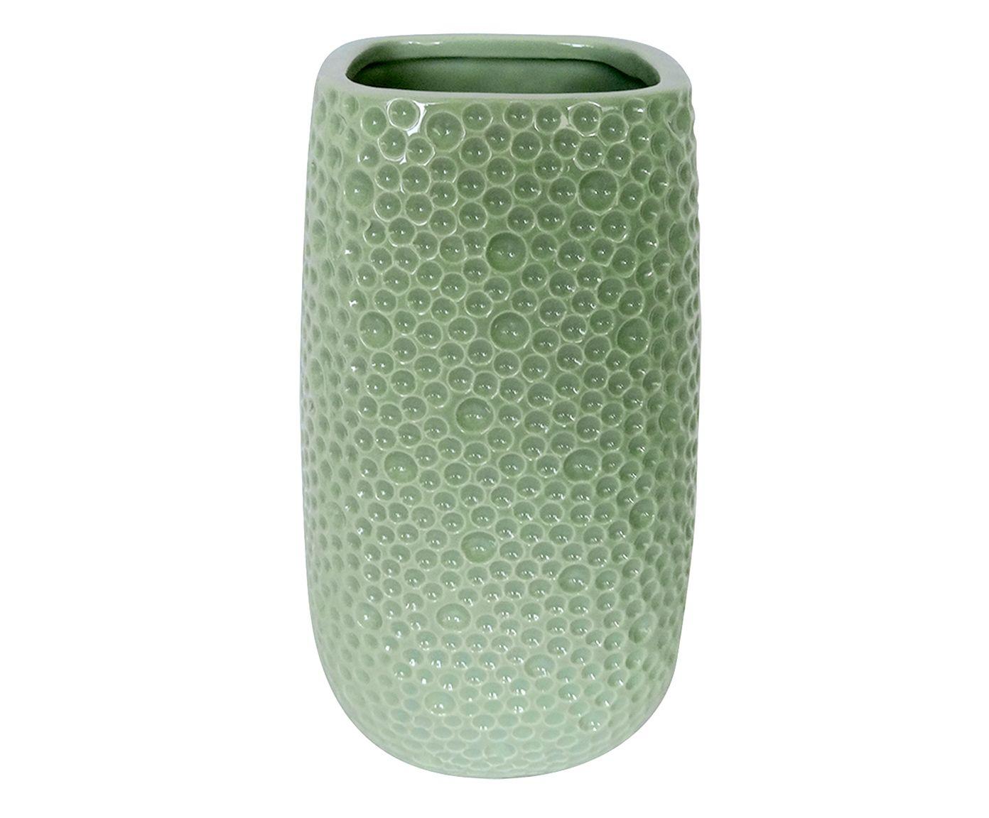 Vaso Ironsea Verde - 23X13,5cm | Westwing.com.br