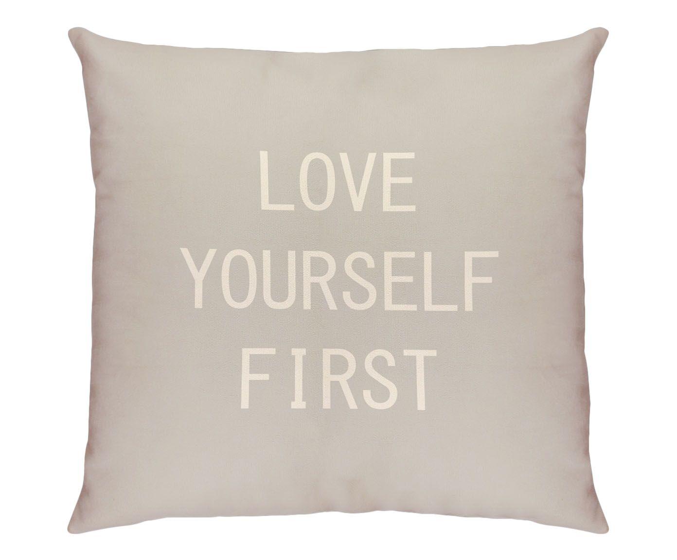 Capa de Almofada Follow Yourself First - 45X45cm | Westwing.com.br