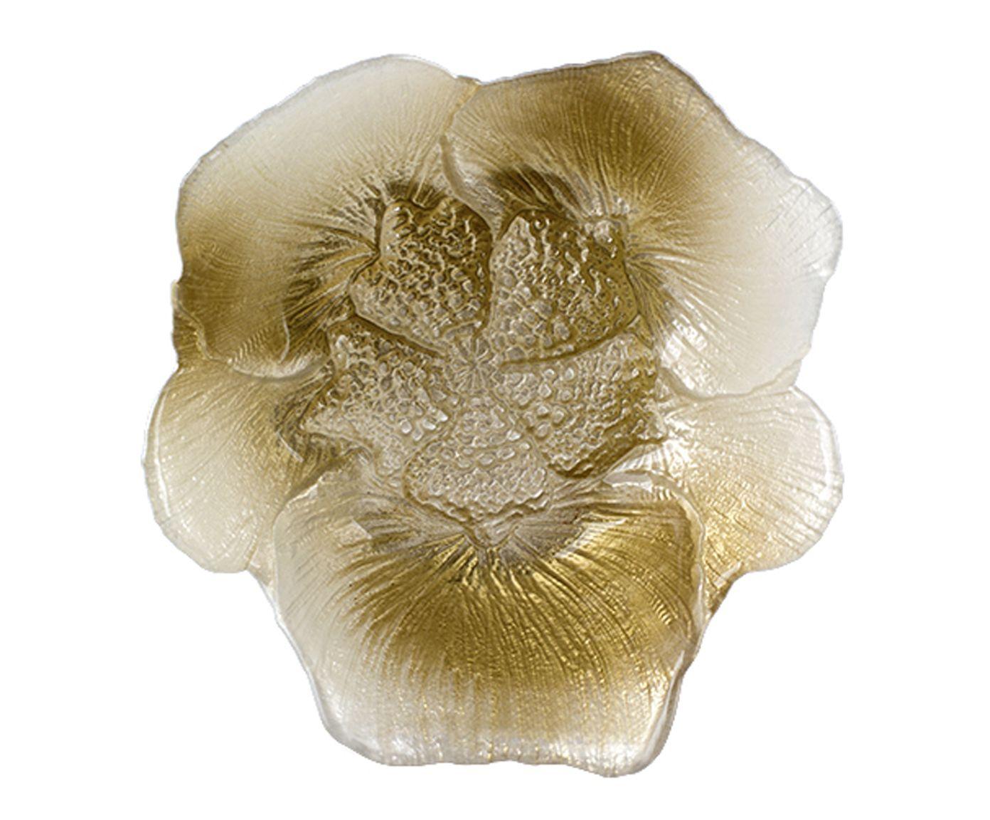 Bowl Folhagem Dourado - 16X6,5cm | Westwing.com.br
