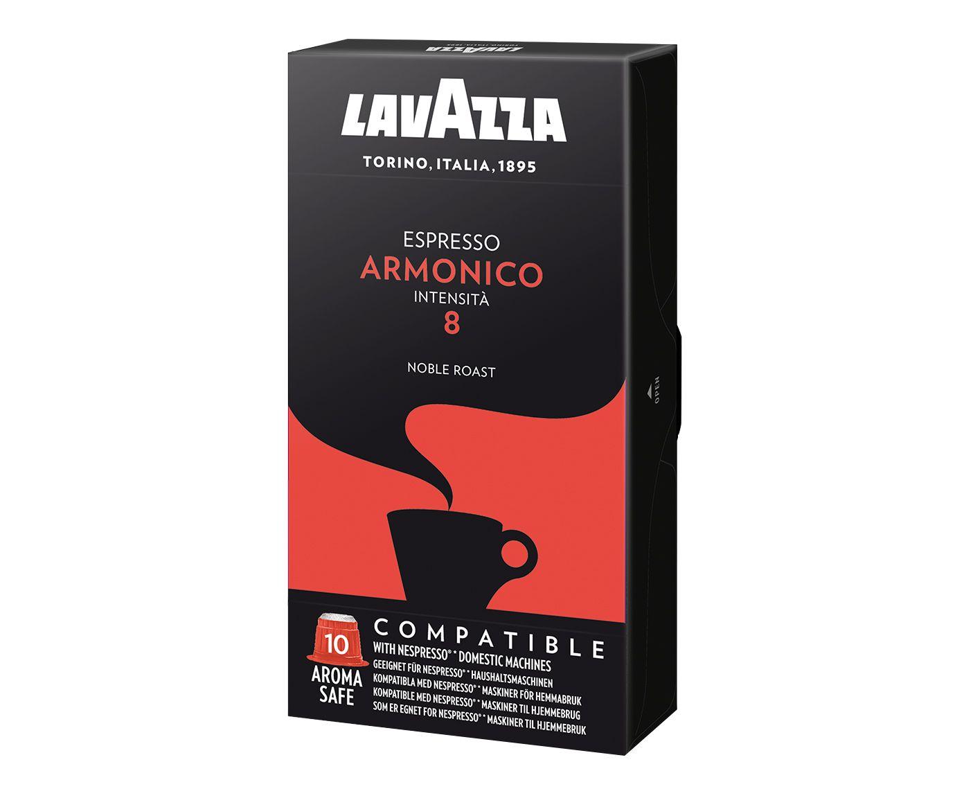 Kit Cápsulas de Café Italiano Lavazza Ncc Espresso Armonico | Westwing.com.br