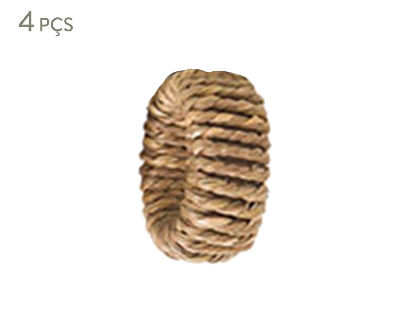Jogo de Anéis para Guardanapo Complement Fiber - 5,5cm | Westwing.com.br