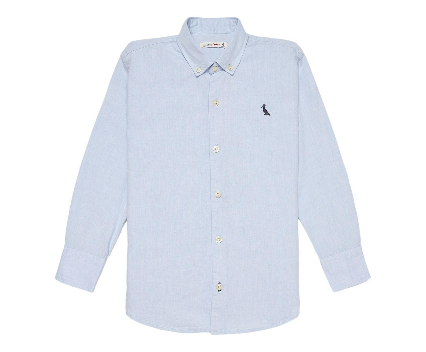 Camisa Reserva Mini Oxford Azul, 2 | Westwing.com.br