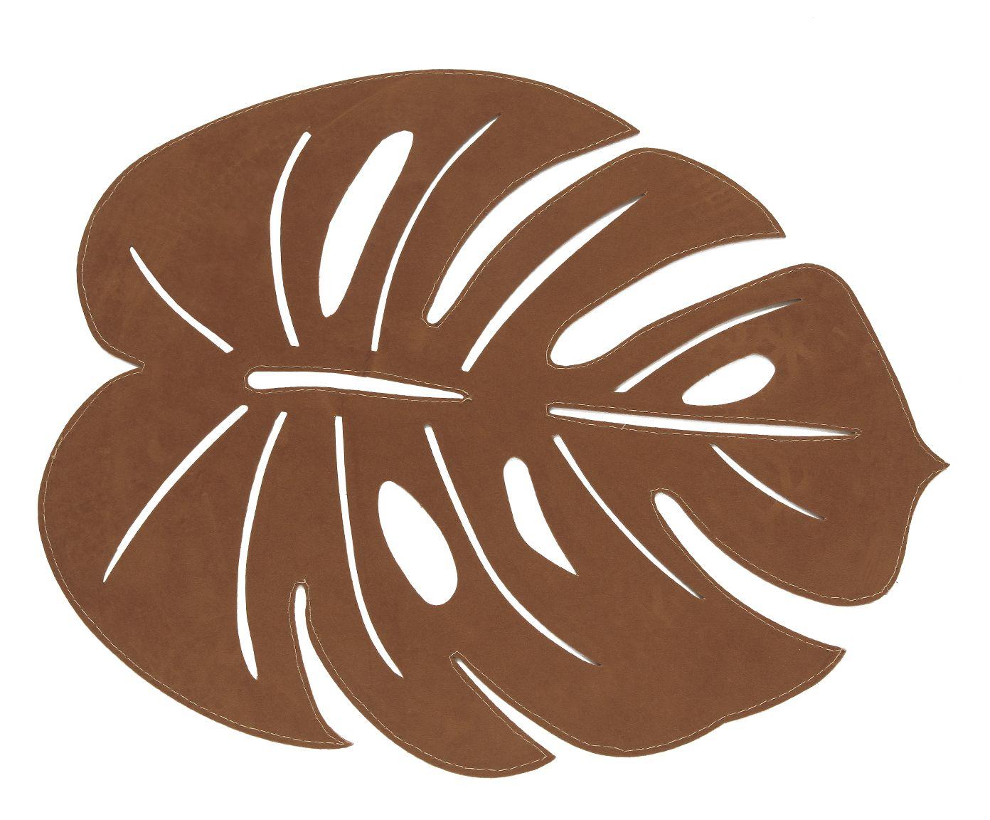 Lugar Americano Leaf Caramelo - 36X45cm | Westwing.com.br