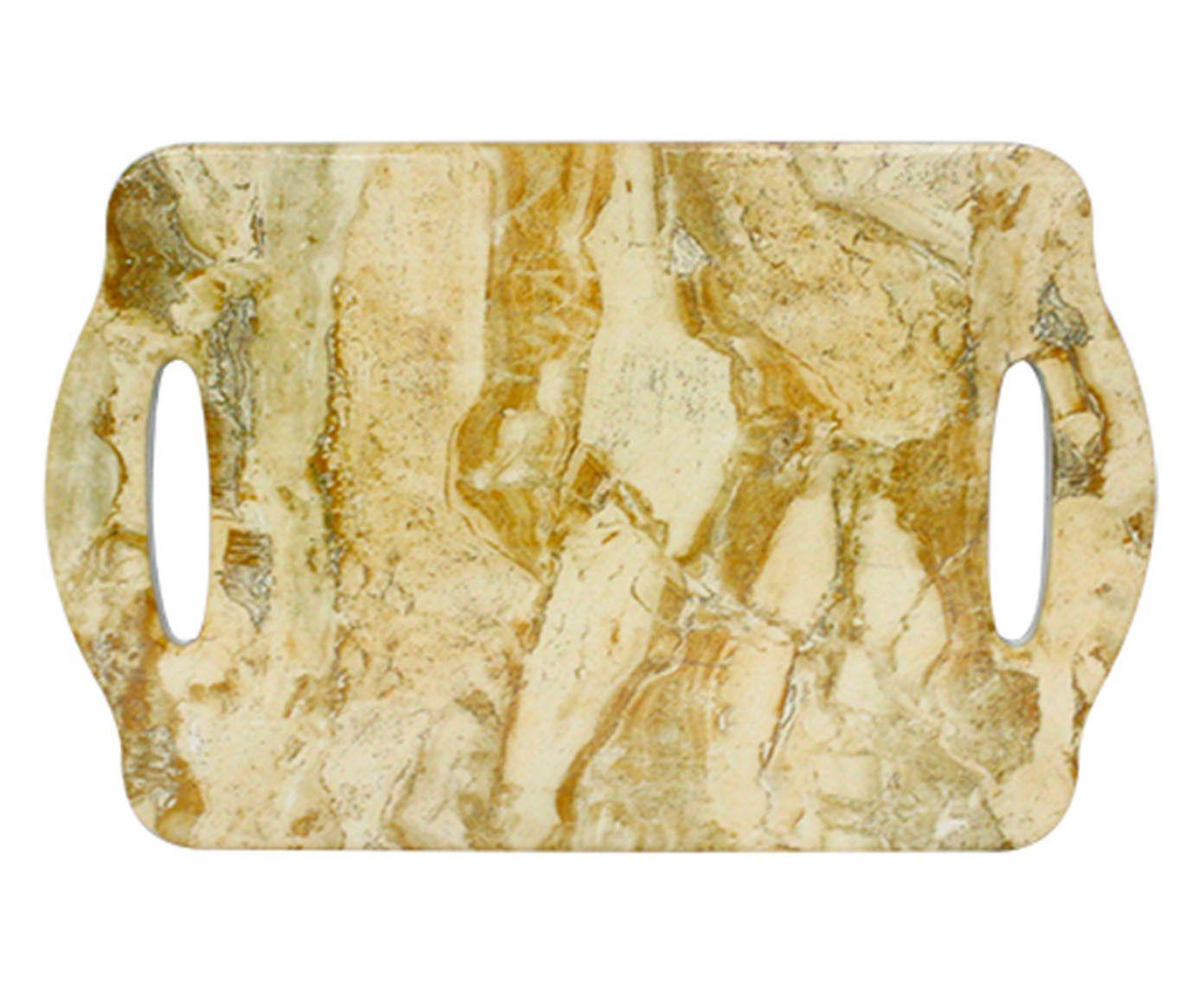 Tábua Decorativa Pedra Bege - 18X1,5X28cm | Westwing.com.br