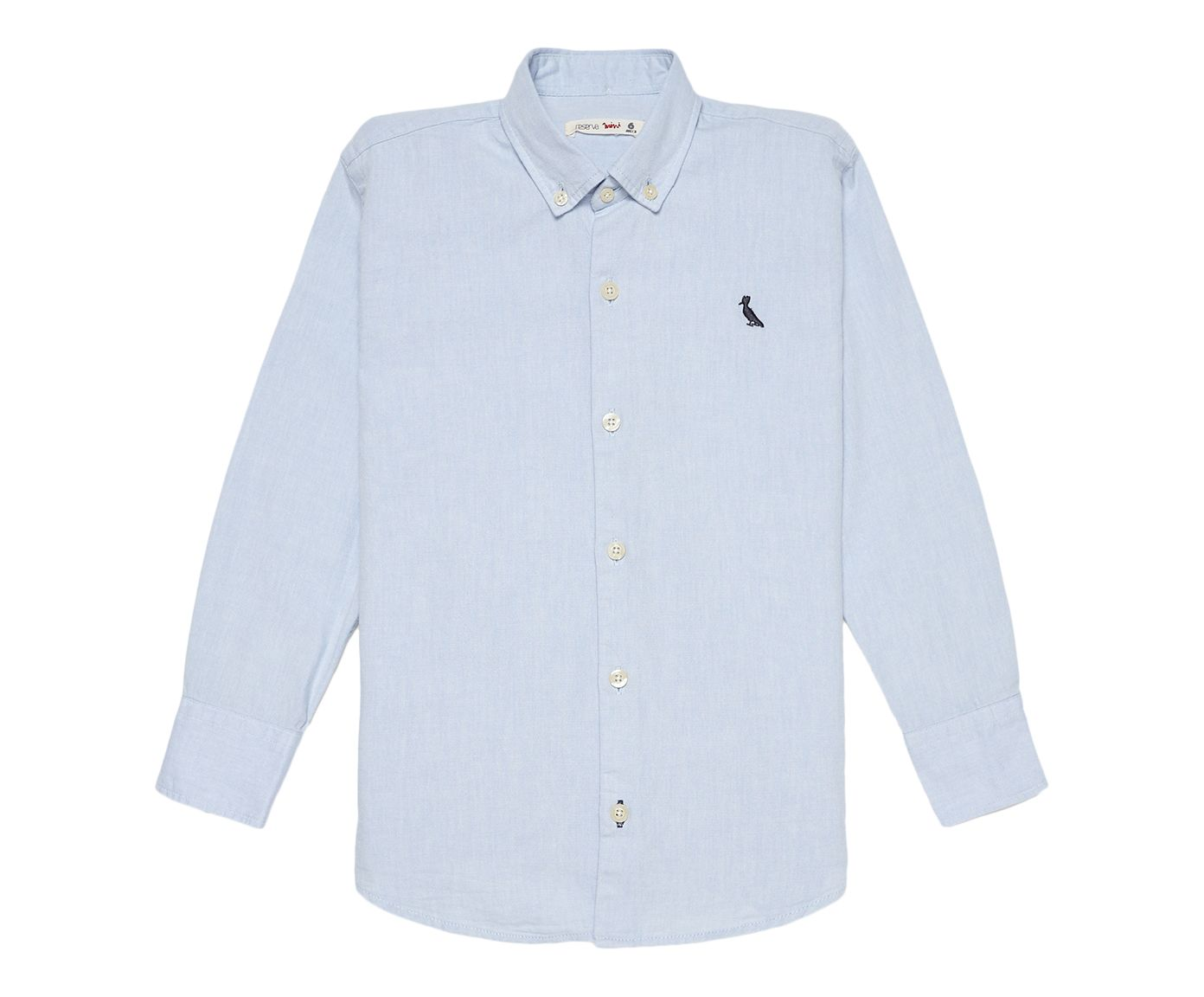 Camisa Reserva Mini Oxford Azul, 12 | Westwing.com.br