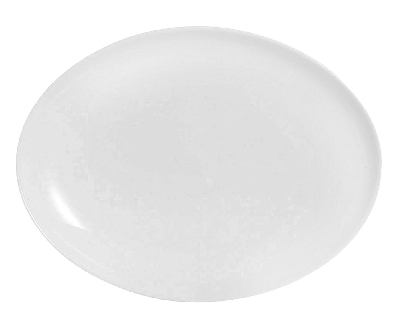 Prato para Servir Diwali Branco - 25X33cm | Westwing.com.br