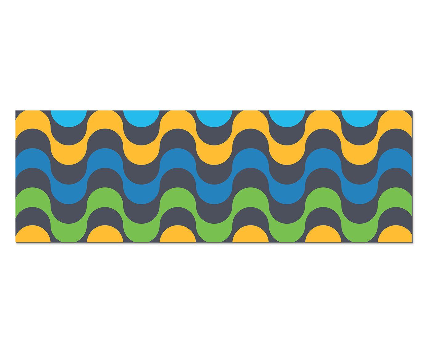 Placa de Madeira Estampada Elstiment - 89X30cm   Westwing.com.br