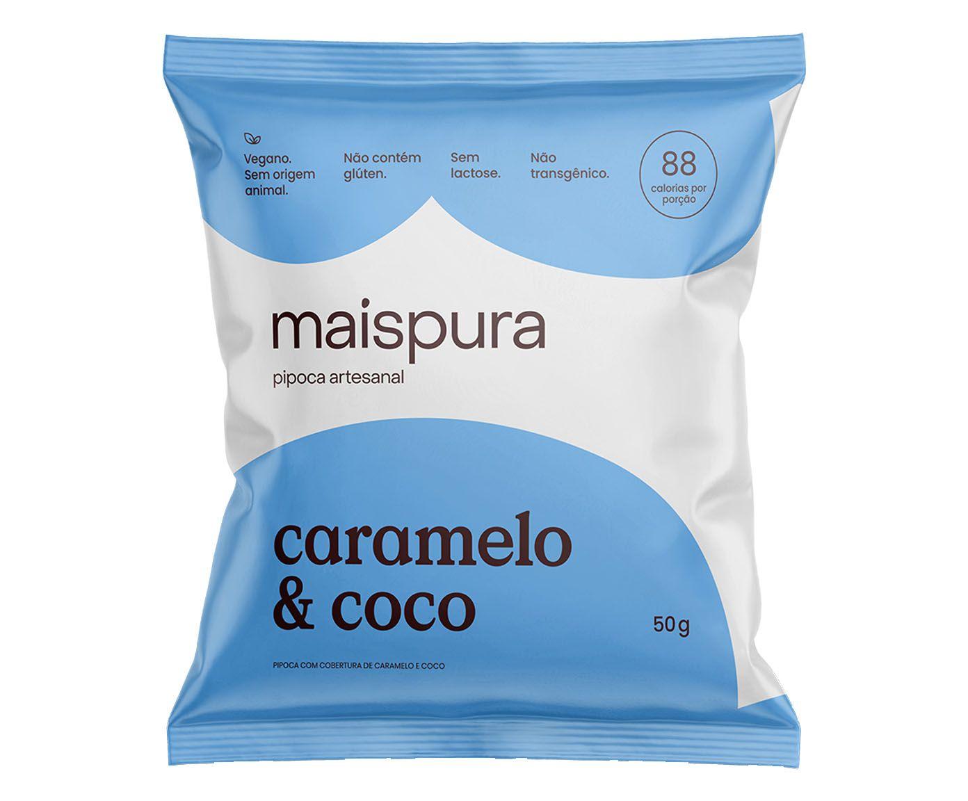 Pipoca Artesanal Mais Pura Caramelo & Coco - 75G | Westwing.com.br
