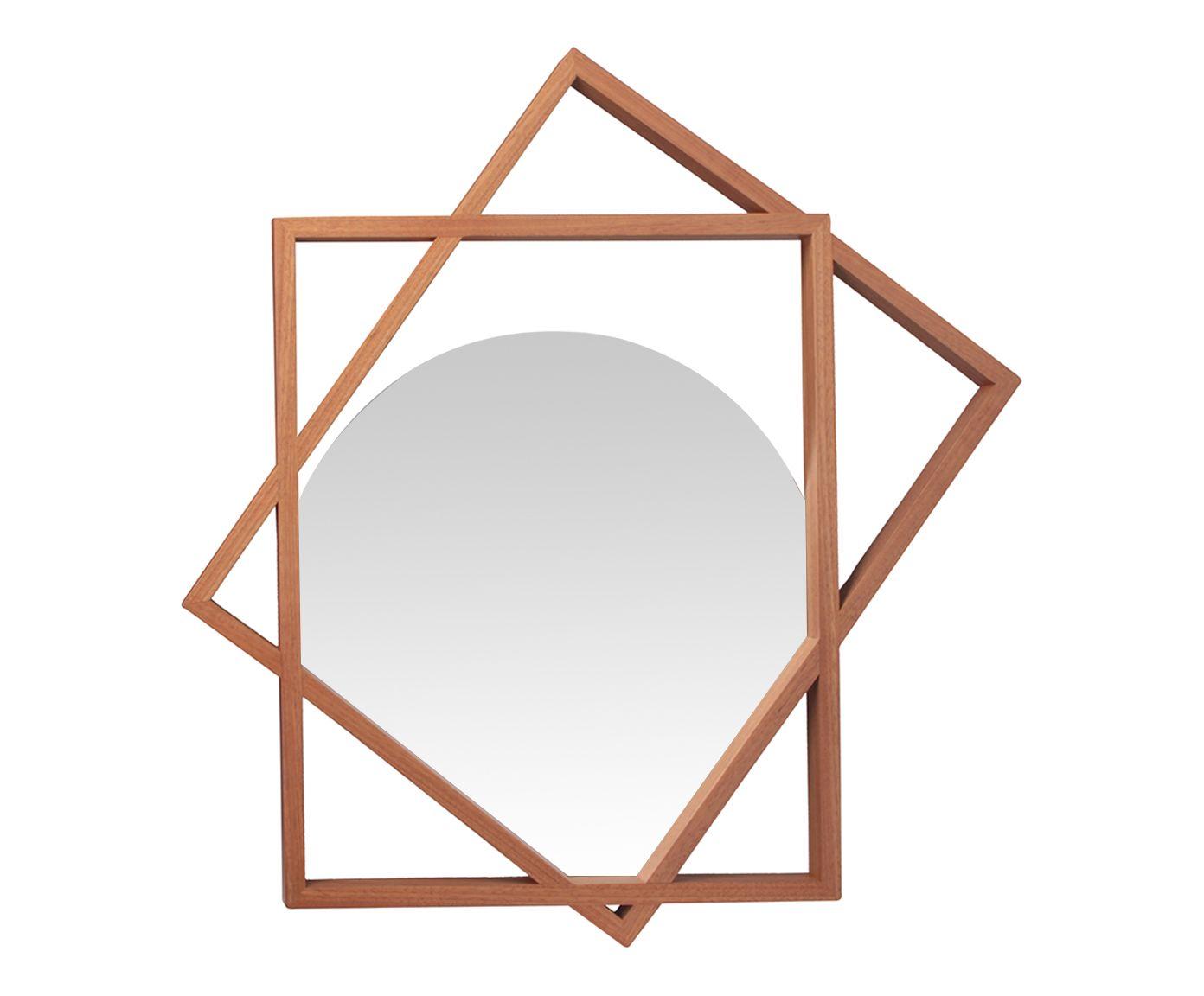 Espelho Asbjorn - 76X79X3,5cm | Westwing.com.br