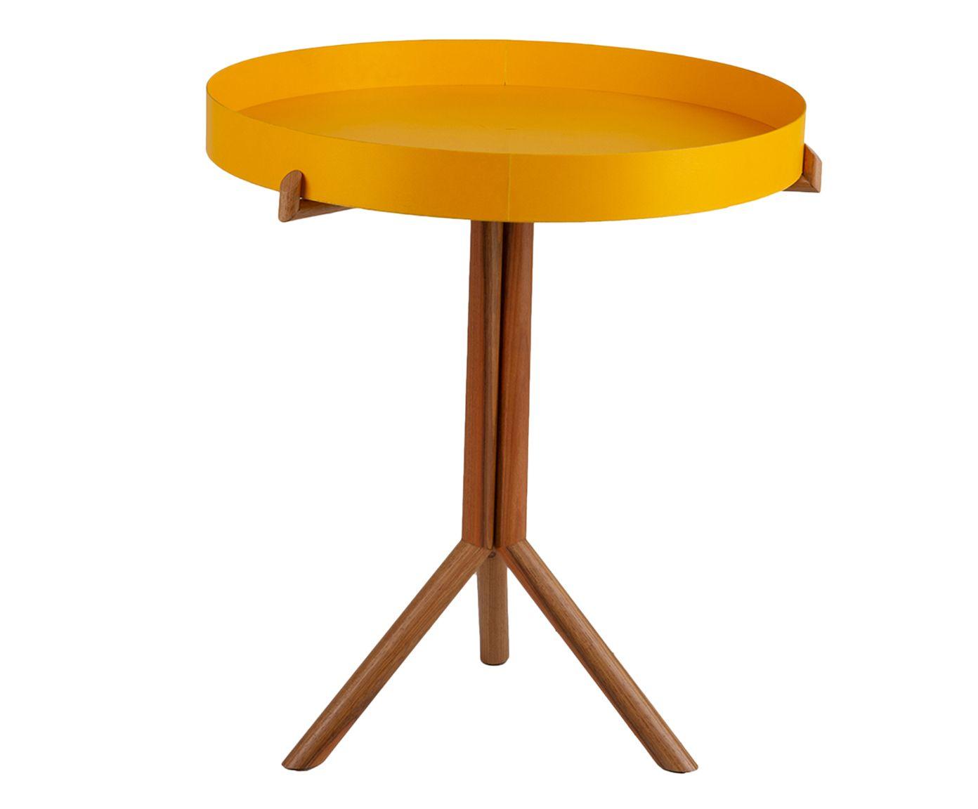 Mesa Lateral Circulo - 52cm | Westwing.com.br