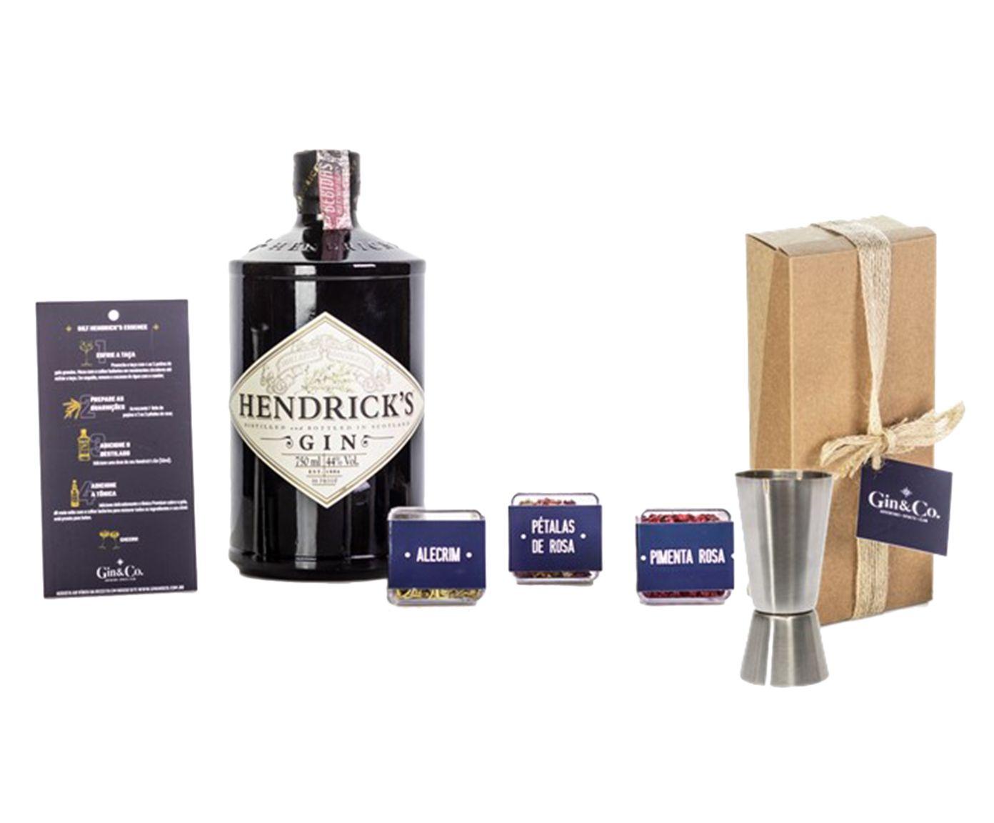 Jogo para Preparo em Inox de Gin Hendrick'S Gin   Westwing.com.br