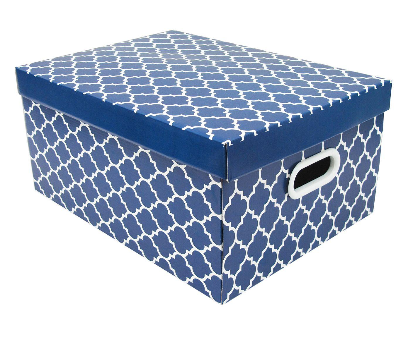 Caixa Organizadora Colonial - 43X30,5X20cm | Westwing.com.br