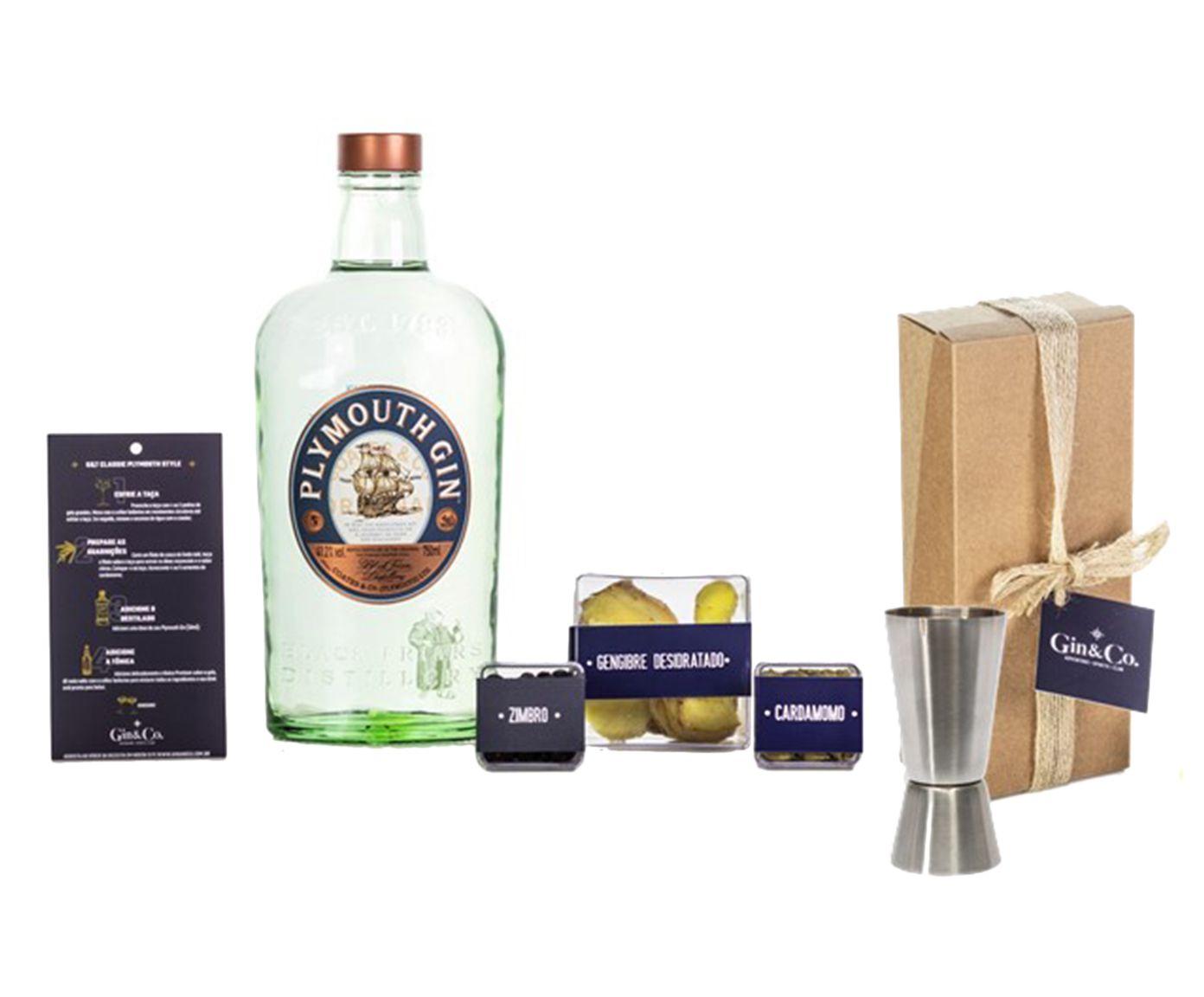 Jogo para Preparo em Inox de Gin Plymouth Gin | Westwing.com.br